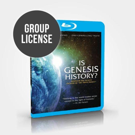 Is Genesis History? Blu-Ray Group License