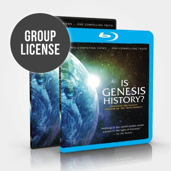 Is Genesis History? Group License Blu-Ray and DVD Combo
