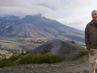 Del Tackett at Mt. St. Helens